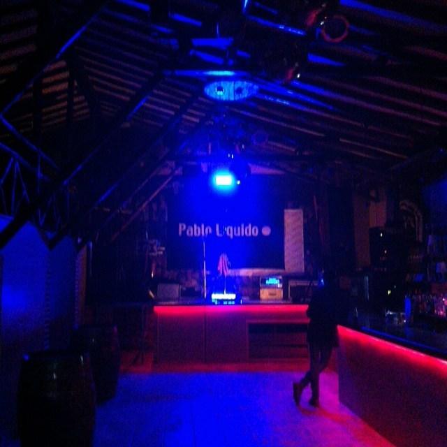All ready en La Pista de Almazan La noche prometehellip